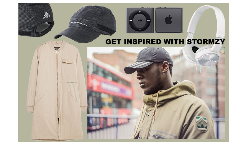 Get inspired with Stormzy s Adidas styled look using a Jacket ... a7c35c49128