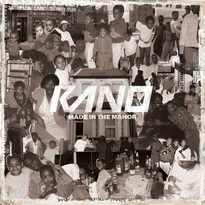 Kano - T Shirt Weather In The Manor,(NEW ADD)